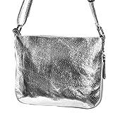 handtasche silber klein silber umhängetasche klein silber Schultertasche kleine Tasche