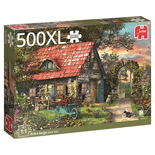 Jumbo- Garden Shed Puzzle de 500 Piezas (18529.0)
