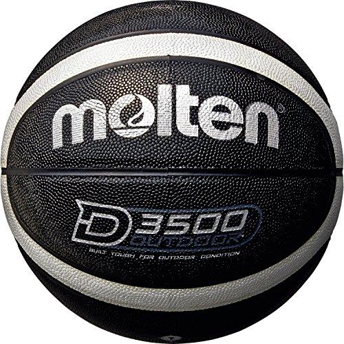 Molten Herren B7D3500-KS Basketball, Schwarz, 7