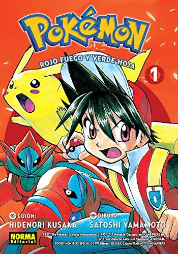 Pokemon 13. Rojo fuego y verde hoja 1