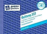 Avery Zweckform 333 Quittung MwSt. separat ausgewiesen weiß