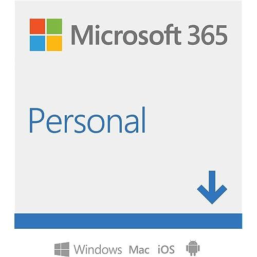 Microsoft 365 Personal | 1 abbonamento annuale | PC/Mac | Codice di attivazione via email