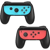 MoKo Joy-con, Impugnatura Compatibile con Nintendo Switch, 2 Set Custodia Protettiva Joystick Ergonomica in Resina ABS…