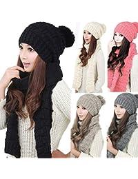 Amazon.it  cappello e sciarpa donna - 4121322031  Abbigliamento fb2535f1edee