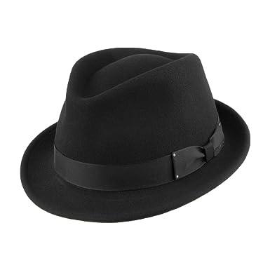 311229a41 Bailey Hats Wynn II Crushable Trilby - Black: Amazon.co.uk: Clothing