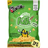 The Mumum Co. Healthy Snacks Protein Masala Madness Puffs for Kids, 200 g- Pack of 10