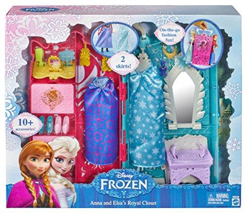 Disney Frozen - Armario de Anna y Elsa (Mattel BDK36)