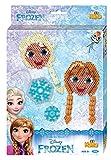 Hama 7958 - Geschenkpackung Frozen, ca. 2000 Bügelperlen und je eine große und sechseckige Stiftplatte