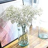 tangbasi 1AST von künstlichen gypsophilas 19Köpfe Kunststoff Fake Blumen Home Office Decor weiß
