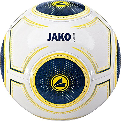 Jako Ball Light 3.0 350 Gramm Unisex weiß-night blue-gelb, 5, weiss