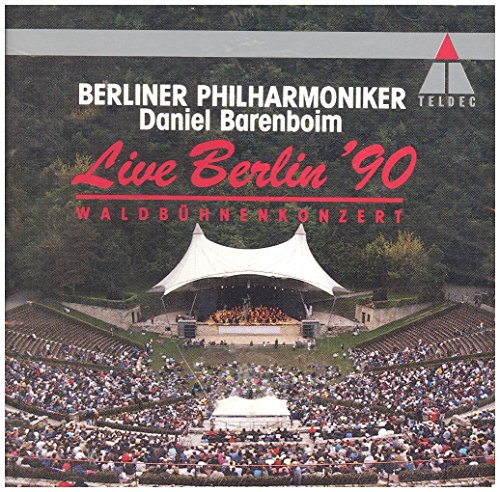 Live Berlin 90 Waldbühnenkonzzert (& Berliner Philharmoniker) [Import anglais]
