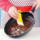 Bluelover Pennello Pulizia Raschietto Spatola In Silicone Da Cucina Cucina Spazzola Di Pulizia