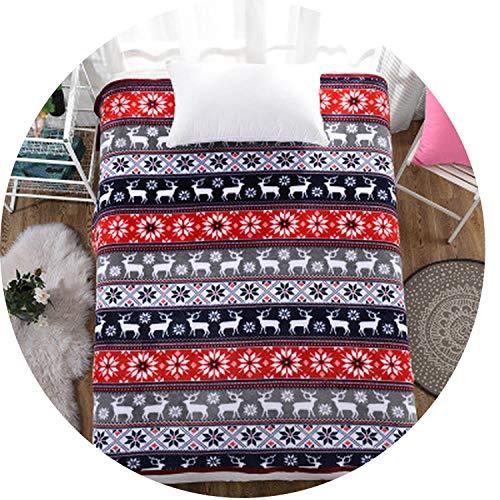 Margot-Charismatic-Blanket Mode de Noël Dreamscene Couverture Couvre-lit Polaire Lits Cobertor Plaids Super Doux Couvre-lit Chaud Parure de lit Manta Home Textile Moderne 140x200cm a