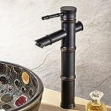 Badezimmer Waschbecken Armatur Waschbecken Mischbatterie Bambus Waschbecken Waschbecken Mischbatterie Single Messing Armaturen Waschbecken Armaturen Beruf einbauen