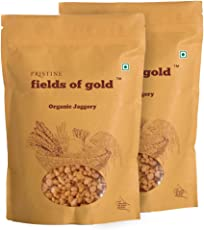 Pristine Fields Of Gold Organic Jaggery, 1kg (Pack of 2)