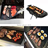 Appliances Packages Best Deals - 2pcs BBQ Grill Mat Baking Barbecue Kitchen Outdoor Grilling Cooking Non-Stick
