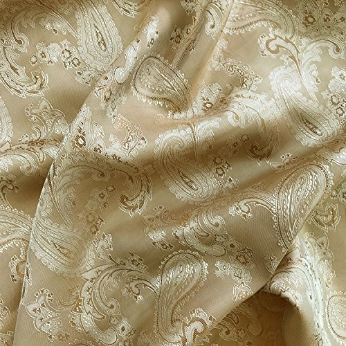Ivory lining polyester fabric dress sewing lining fabric 150cm wide Per Meter UK