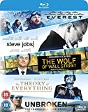 Everest/Steve Jobs/Wolf Of Wall Street/Theory Of Everything/... [Blu-ray] UK-Import, Sprache-Englisch