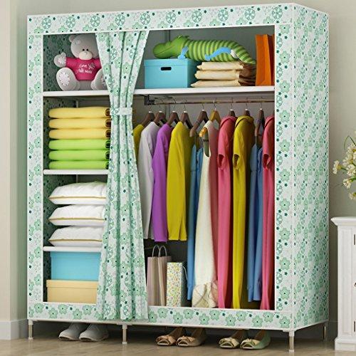 MMM& Tissus Armoires Épaississement 25mm Oxford Cloth Armoires Armoire Grande Assemblée (couleur : # 2)