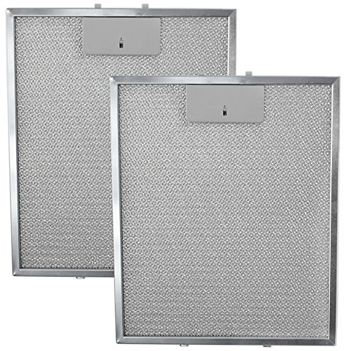 SPARES2GO Universal Cooker Hood Metal Mesh Grease Filter for ...