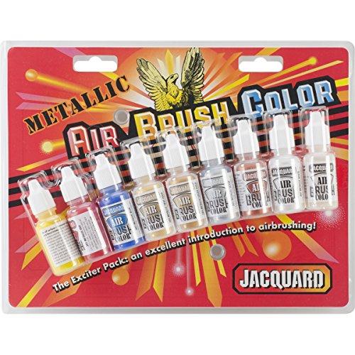 Jacquard Metallic Airbrush Exciter Pack-8Colors