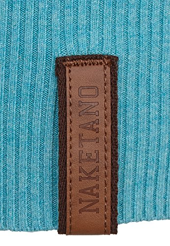 Naketano Female Knit Global asozial am blasen Fresh Green Melange Striped