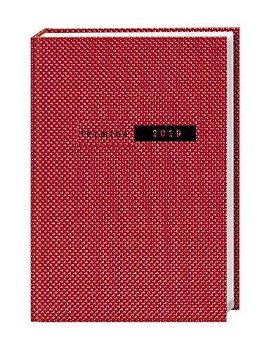 Terminer A5, Struktur rot - Kalender 2019