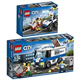 Lego CITY 2er Set 60142 60135 Gangsterjagd auf Quad + Geldtransporter