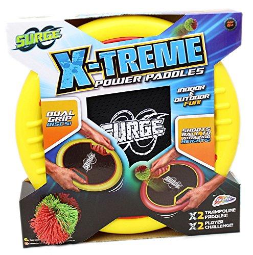 RMS Surge - X-Treme - Power Paddles - Trampolin-Ballspiel für Drinnen & Draußen