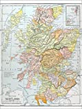 Poster 30 x 40 cm: Karte: Schottland von Granger Collection