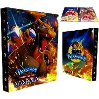 Raccoglitore porta carte Pokemon, album Pokemon Cards GX EX Trainer, album di carte da collezione, 30 pagine - Può…