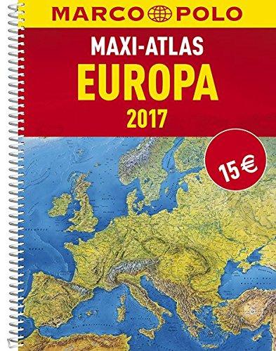 MARCO POLO Maxi-Atlas Europa 2017 (MARCO POLO Reiseatlanten) Test