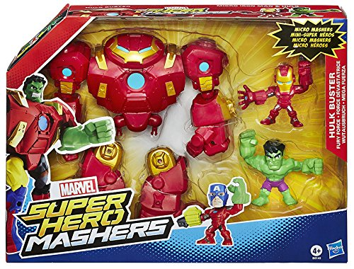 Hasbro Marvel Avengers Super Hero Mashers - Figurina Marvel, Hero Mashers Mash Pack, Modelli assortiti, 1 Pezzo