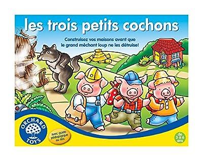 Orchard Toys - 176 - Trois Petits Cochons - Jeu de Plateau