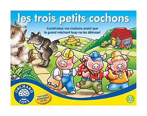 Orchard Toys Societe-Trois Petits Cochons-Jeu de Plateau, 176