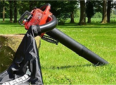 Laubbläser- und Sauger für den Garten mit leistungsstarkem 25 cc Benzinmotor