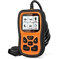 AUTOPHIX OBD2-Scanner, verbesserte OM126P Fahrzeugcodeleser, Auto-Diagnose-Kontrollleuchte für alle OBDII-Autos nach…