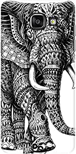 DailyObjects Ornate Black Elephant Case For Samsung Galaxy A5 2016 Edition