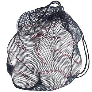 Tebery 12 Stück Offizielle Basebälle Freizeit Baseball Praxis Softbälle...