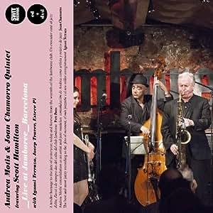 Live at Jamboree - Barcelona (CD & DVD) by Andrea Motis & Joan Chamorro Quintet (2013) Audio CD