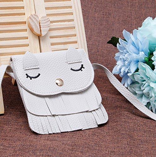 Dairyshop Borse a tracolla della borsa delle ragazze delle donne borsa della borsa del sacchetto della borsa del sacchetto della traversa (Arancio) Grigio