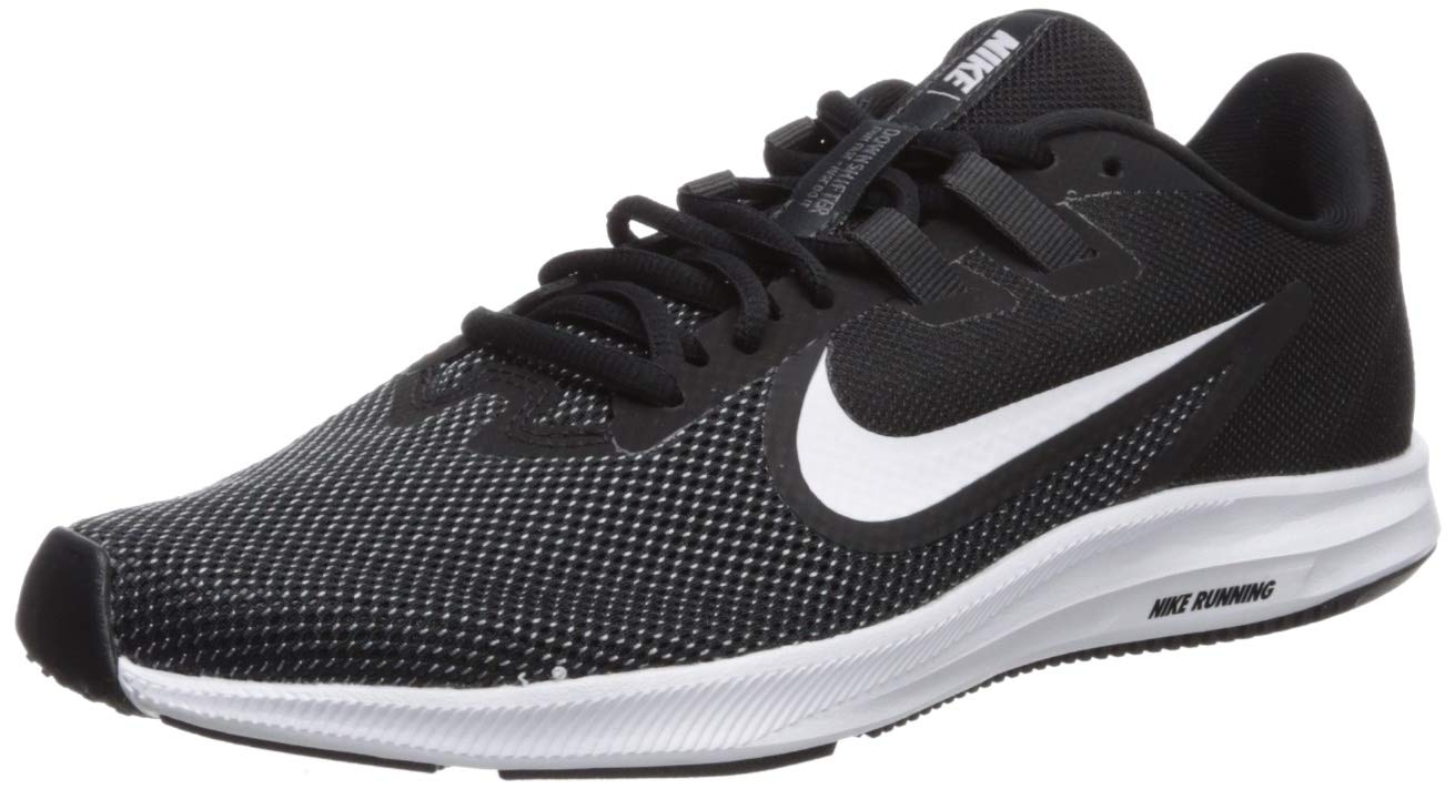 Nike Damen Downshifter 9 Laufschuhe, Schwarz/Laser Fuchsia/Dunkelgrau