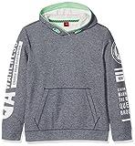 s.Oliver Jungen Sweatshirt 61.707.41.3180, Blau (Blue Melange 57W8), 152 (Herstellergröße: M)