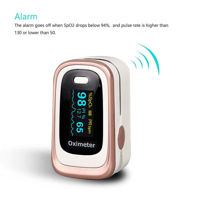 Fingertip Pulse Oximeter, SpO2 and Sleep Monitoring for