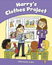 Level 5: Harry's Clothes Project CLIL (Pearson English Kids Readers)