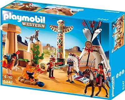 Campamento indio con tótem (5247) de Playmobil