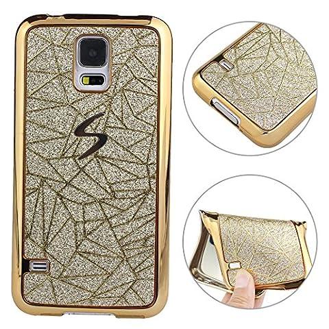 Galaxy S5 Neo Hülle Glitzer, Galaxy S5 Glitter Case, Galaxy
