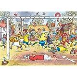 Wasgij Original 14 - Football Madness 1000 Piece Jigsaw Puzzle