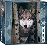 Eurographics 8x 20,3cm Box Gray Wolf MO Puzzle (1000Stück)
