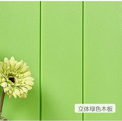 Wapel 3D-Stereo-Tv-Hintergrund Wand Wasserdicht Wand Ziegel Muster Grün